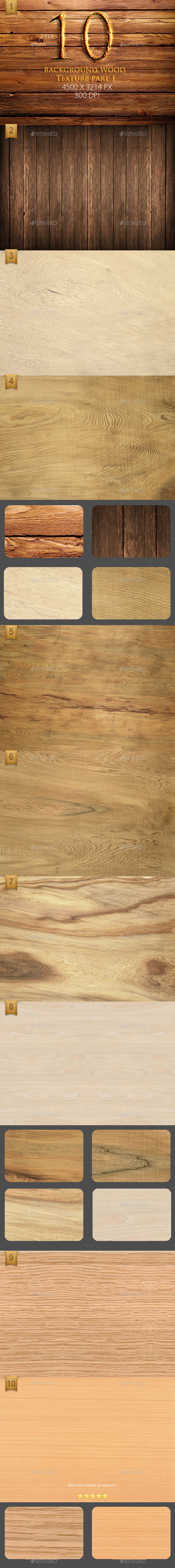 10 Background Wood Texture part 1  - Wood Textures