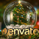 Merry Christmas Snow Globe Intro - VideoHive Item for Sale