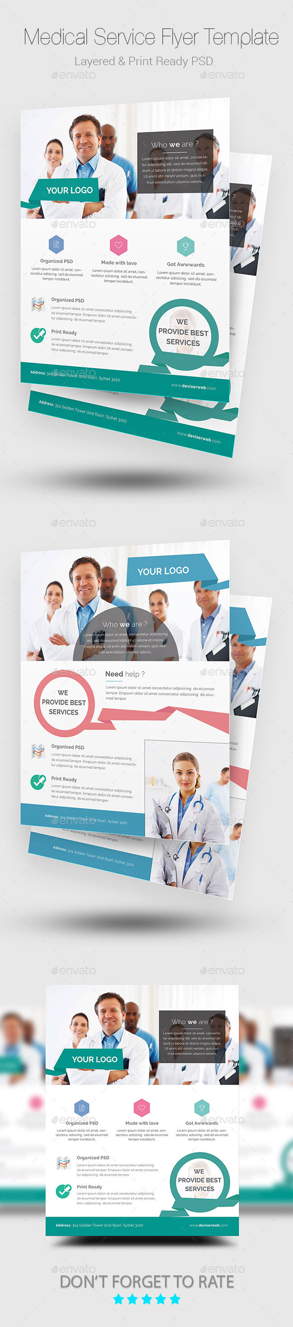 Medical Flyer/Poster Templates - Corporate Flyers