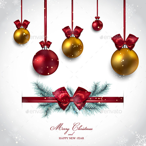 Christmas Background - New Year Seasons/Holidays