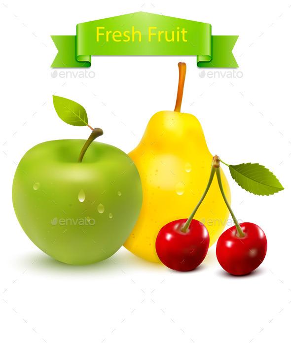 Fresh Fruit - Food Objects