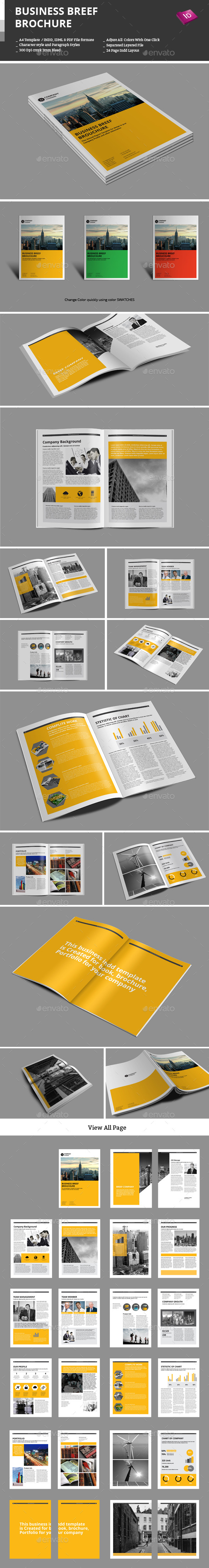 Business Breef Brochure - Corporate Brochures