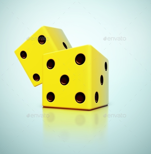 Yellow Dice - Conceptual Vectors