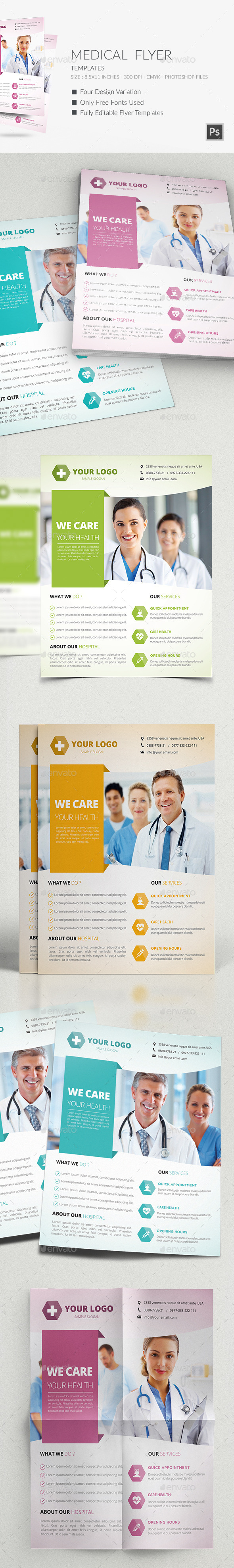Medical Flyers Templates - Corporate Flyers