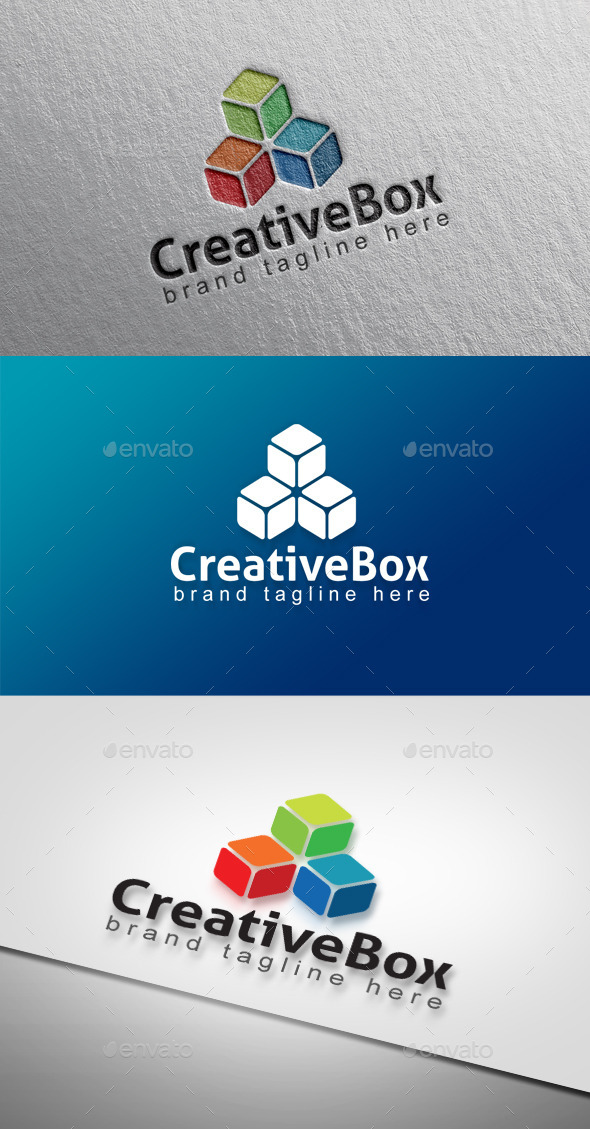 Creative Box - Abstract Logo Templates