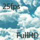 Flying In Clouds Daylight - VideoHive Item for Sale