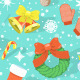 Colorful Christmas Pattern - GraphicRiver Item for Sale