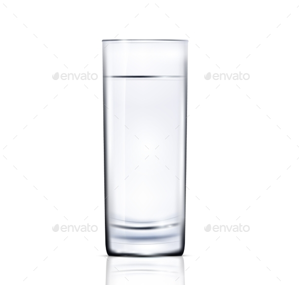 Glass of Water - Food Objects