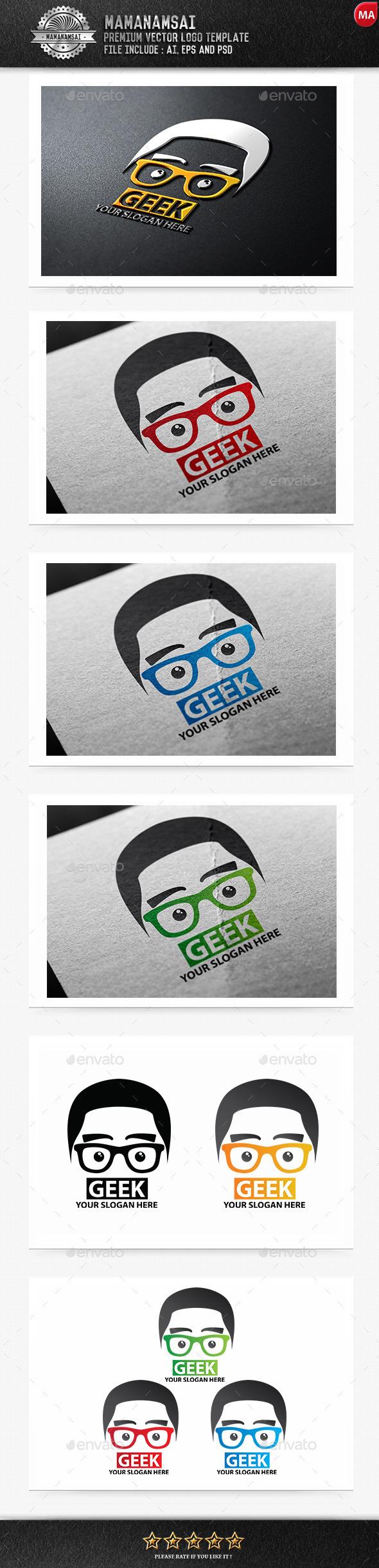 Geek Logo - Logo Templates