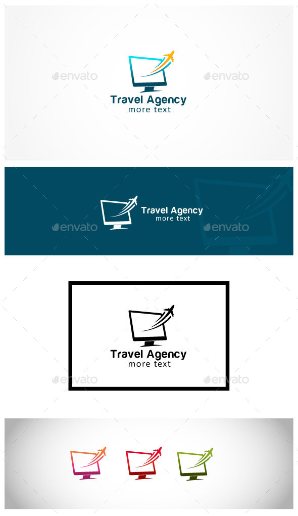 Travel Agency - Symbols Logo Templates