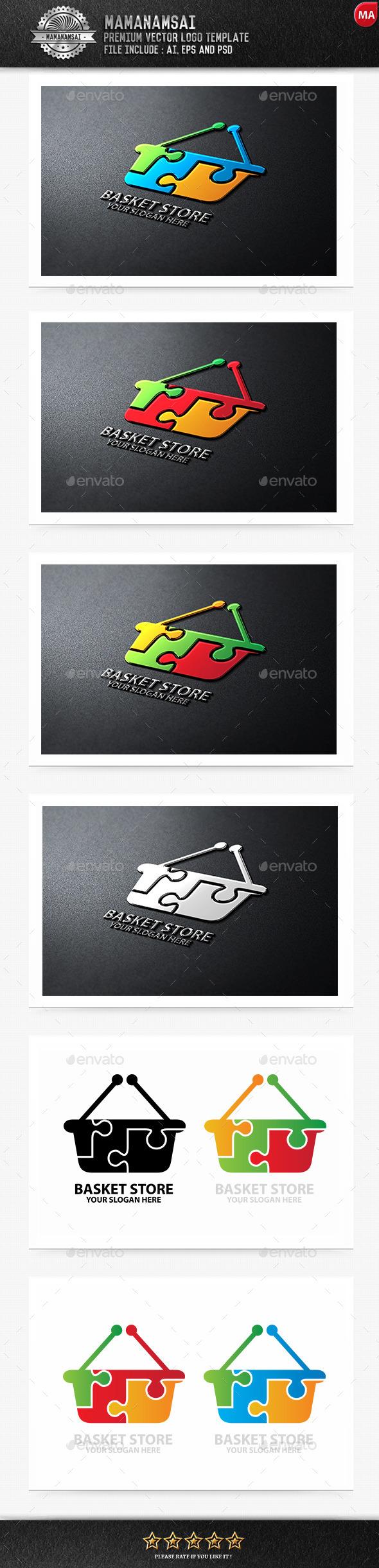 Basket Store Logo - Logo Templates