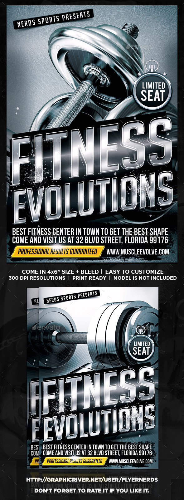 Fitness Evolutions Sports Flyer