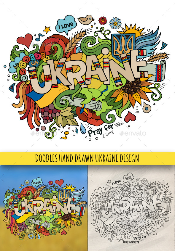 Ukraine Doodles Designs - Travel Conceptual