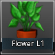 Flower Low Poly L1 - 3DOcean Item for Sale