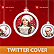 Christmas Twitter Cover - GraphicRiver Item for Sale