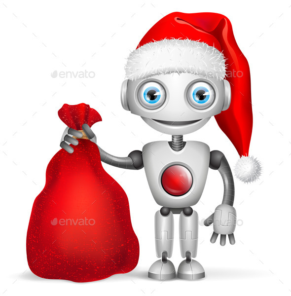 Robot Santa Claus - Christmas Seasons/Holidays