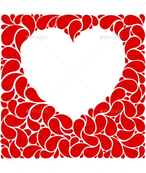 Heart Frame - Valentines Seasons/Holidays