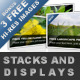 Stacks and Displays - GraphicRiver Item for Sale