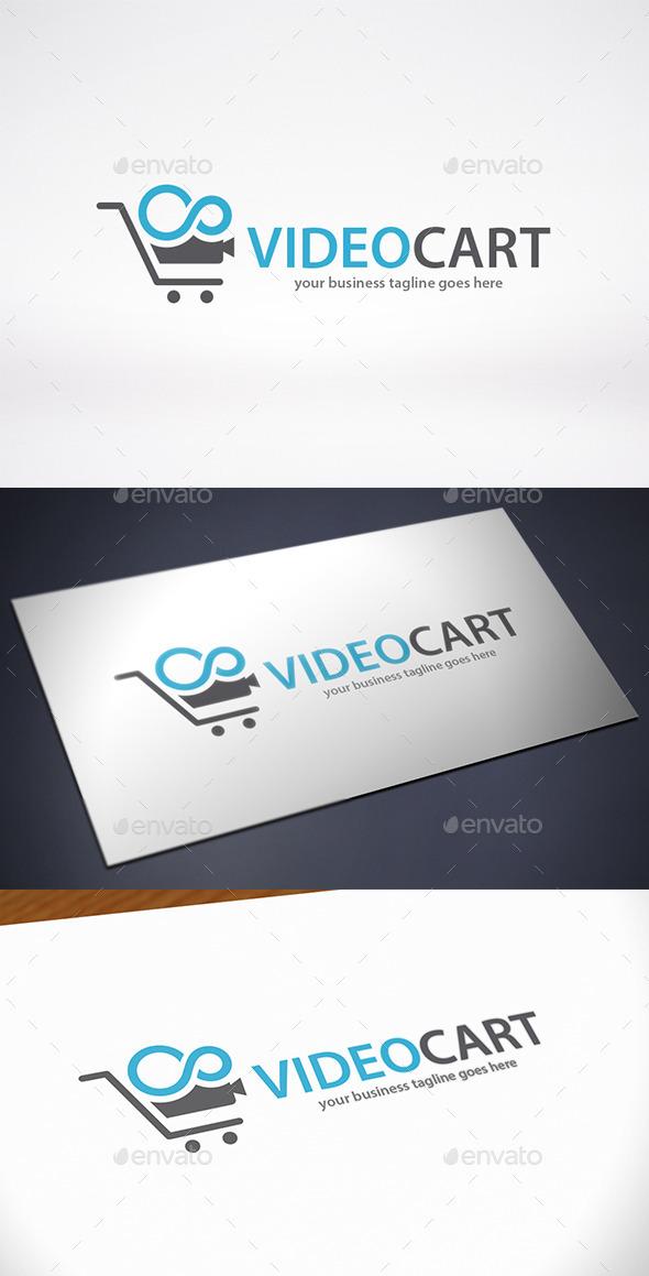 Video Cart Logo Template - Objects Logo Templates