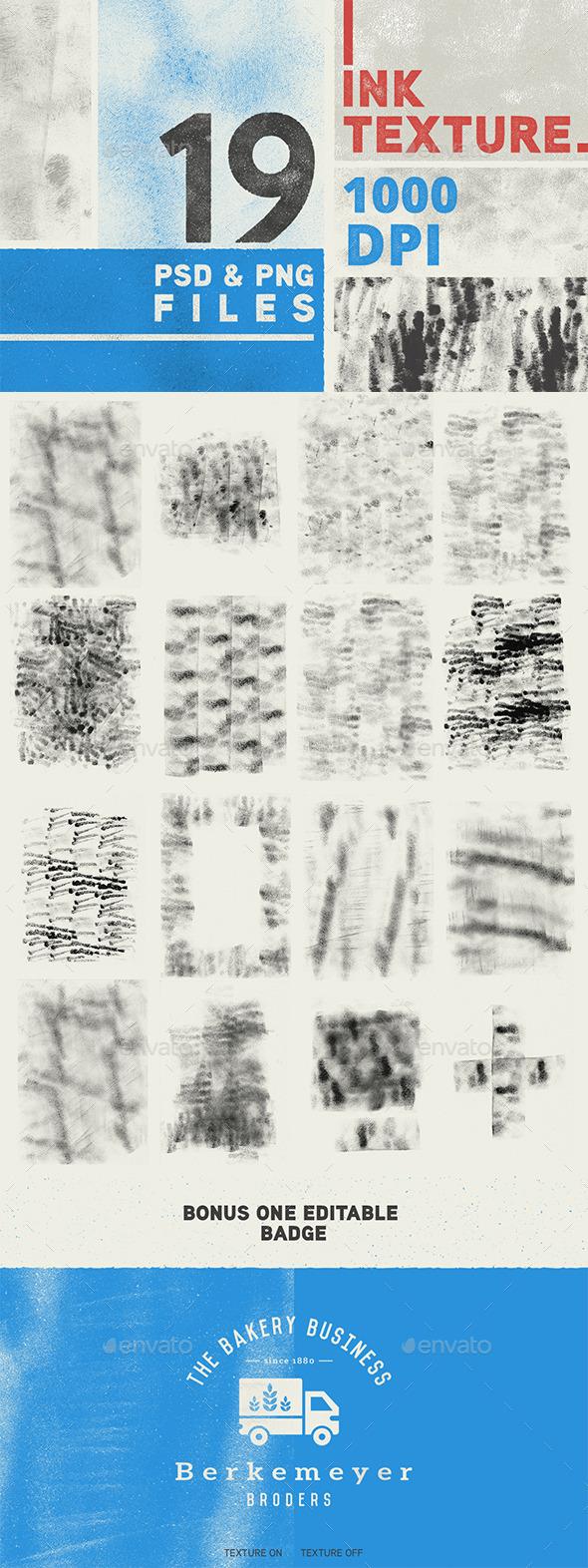 19 Ink Texture - Textures