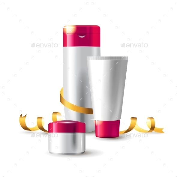Cosmetics Packages - Objects Vectors