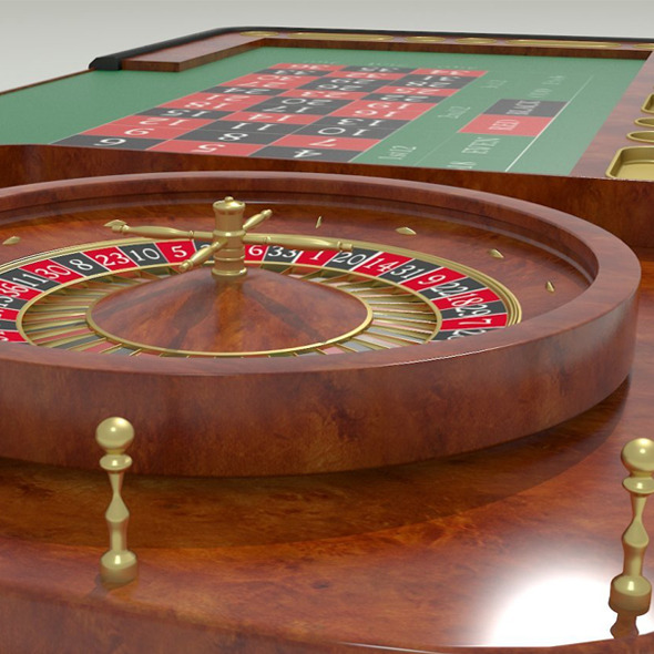 Casino Roulette Table  - 3DOcean Item for Sale