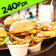 Waiter Carrying Burgers - VideoHive Item for Sale
