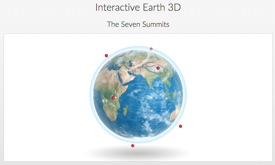Interactive Earth Globe D By Flashfx CodeCanyon - Interactive globe map