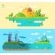 Set of Flat Design Concept Illustrations - GraphicRiver Item for Sale