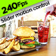 Hamburger and Pouring Drink - VideoHive Item for Sale