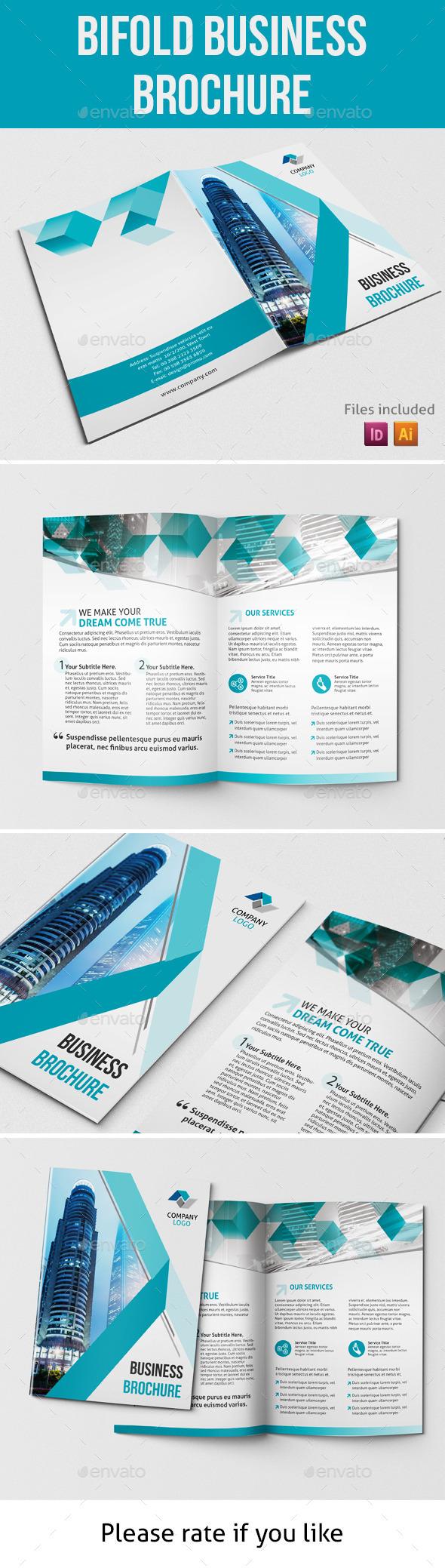Bi-Fold Multy Purpose Brochure - Brochures Print Templates