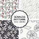 Set of Four Floral Seamless Patterns - GraphicRiver Item for Sale