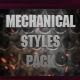 12 Mechanical Styles Pack  - GraphicRiver Item for Sale