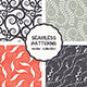 Vector Set of Four Floral Seamless Patterns - GraphicRiver Item for Sale