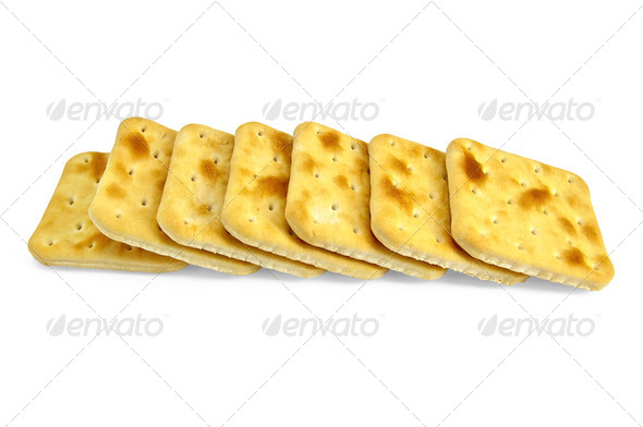 A number of biscuits - Stock Photo - Images