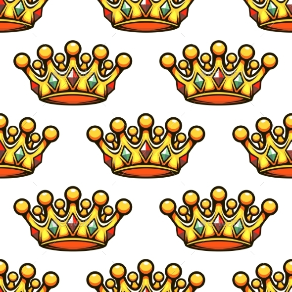 Crown Pattern - Patterns Decorative