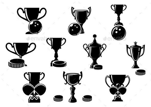 Sports Trophies - Sports/Activity Conceptual
