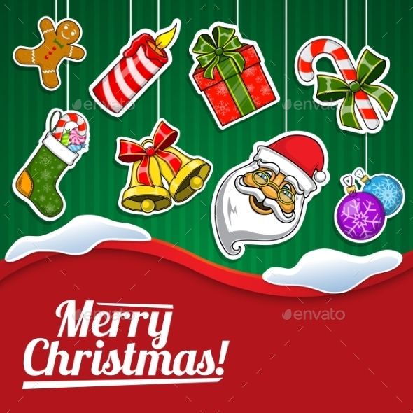 Christmas Holiday Background. - Christmas Seasons/Holidays