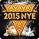 2015 New Years Eve NYE Flyer Template - GraphicRiver Item for Sale