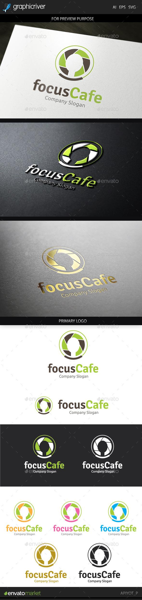 The Cafe Logo - Food Logo Templates