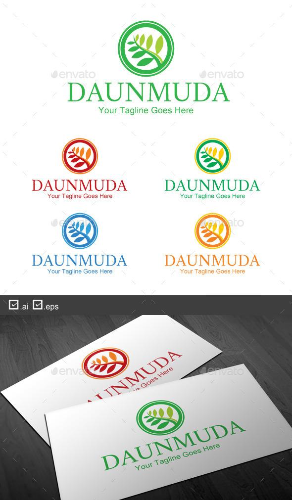 Daun Muda - Nature Logo Templates