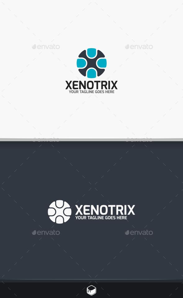 Xenotrix Letter X Logo - Letters Logo Templates