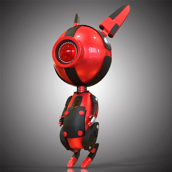 Robo Rabbit - 3DOcean Item for Sale