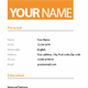 Clean Resume - 3 Colours - GraphicRiver Item for Sale