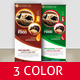 Restaurants/Foods Roll-Up Banner - GraphicRiver Item for Sale