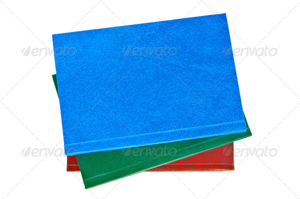 A stack of notebooks - Stock Photo - Images
