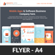 Mobile Apps Promotion Flyer Template - GraphicRiver Item for Sale