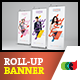 Cautiva Roll-Up Banner 2 - GraphicRiver Item for Sale