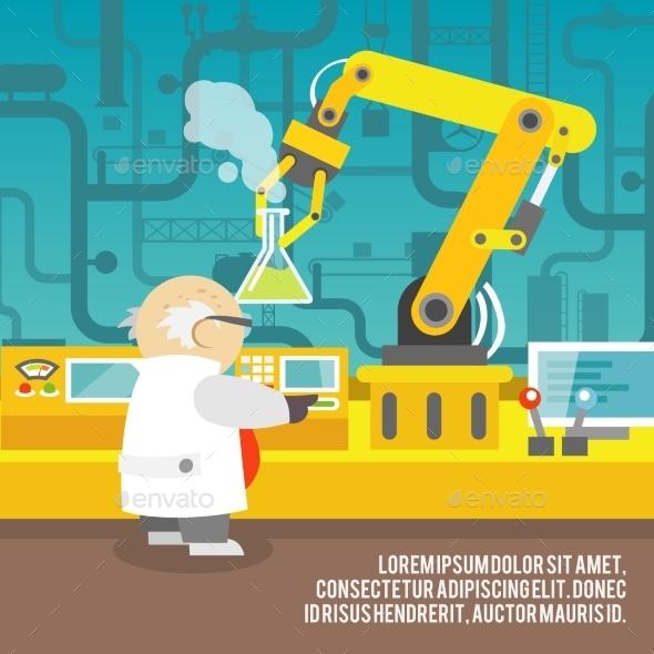 Robotic Arm Concept - Technology Conceptual