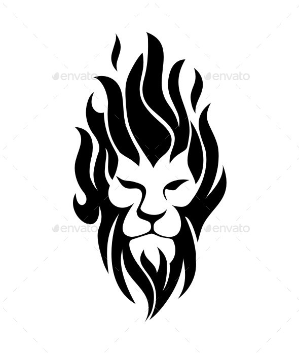 Fire Lion - Animals Characters